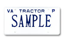 Tractor Private Plate
