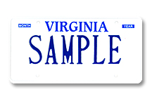 Truck/Tractor Rental Plate