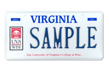 Univ of Virginia - Wise Plate
