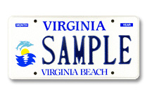 Virginia Beach City Plate
