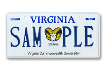 Virginia Commonwealth - Ram Plate