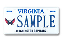 Washington Capitals Plate