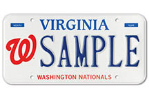 Washington Nationals Plate