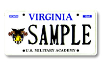 United States Military Academy Plate