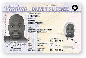 Picture of Real ID License