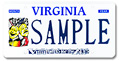 Virginia For The Arts Plate