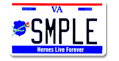 Law Officers Mem. Motorcycle Plate