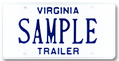 Trailer Plate