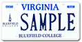 Bluefield College Plate