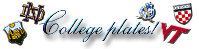 College Plates Title Graphic
