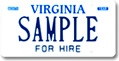 Non Apportioned Bus Plate