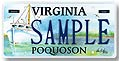 Poquoson City Plate