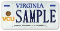 Virginia Commonwealth - Seal Plate