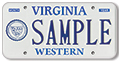 Virginia Western Community College Plate