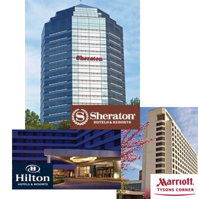 Exterior image of the Sheraton Premiere at Tysons Corner